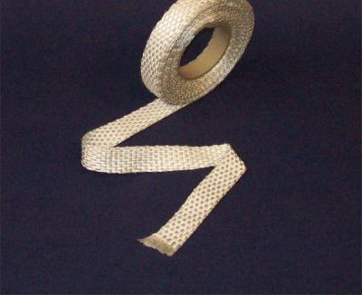 20 mm breit x 2 mm stark (Silikatfaser) - Krümmer - Band