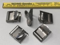 Edelstahl Klemmschnallen für 25 mm Gurtbreite