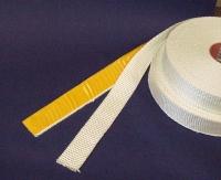 60 mm breit x 2 mm stark - Glasgewebebänder Schlauch Band 60x2 Keramik Asbest Ersatz Auspuff 5m 10m 25m 50m roh selbstklebend